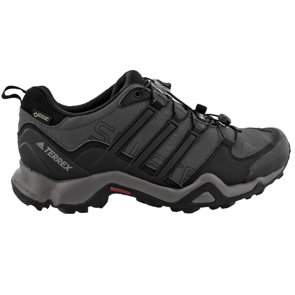 ADIDAS Men's Terrex Swift R GTX Outdoor Shoes, Grey - GREY/BLACK/GRANITE