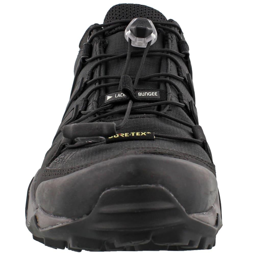 ADIDAS Women's Terrex Swift R GTX Outdoor Shoes - BLACK/BLACK/GRANITE