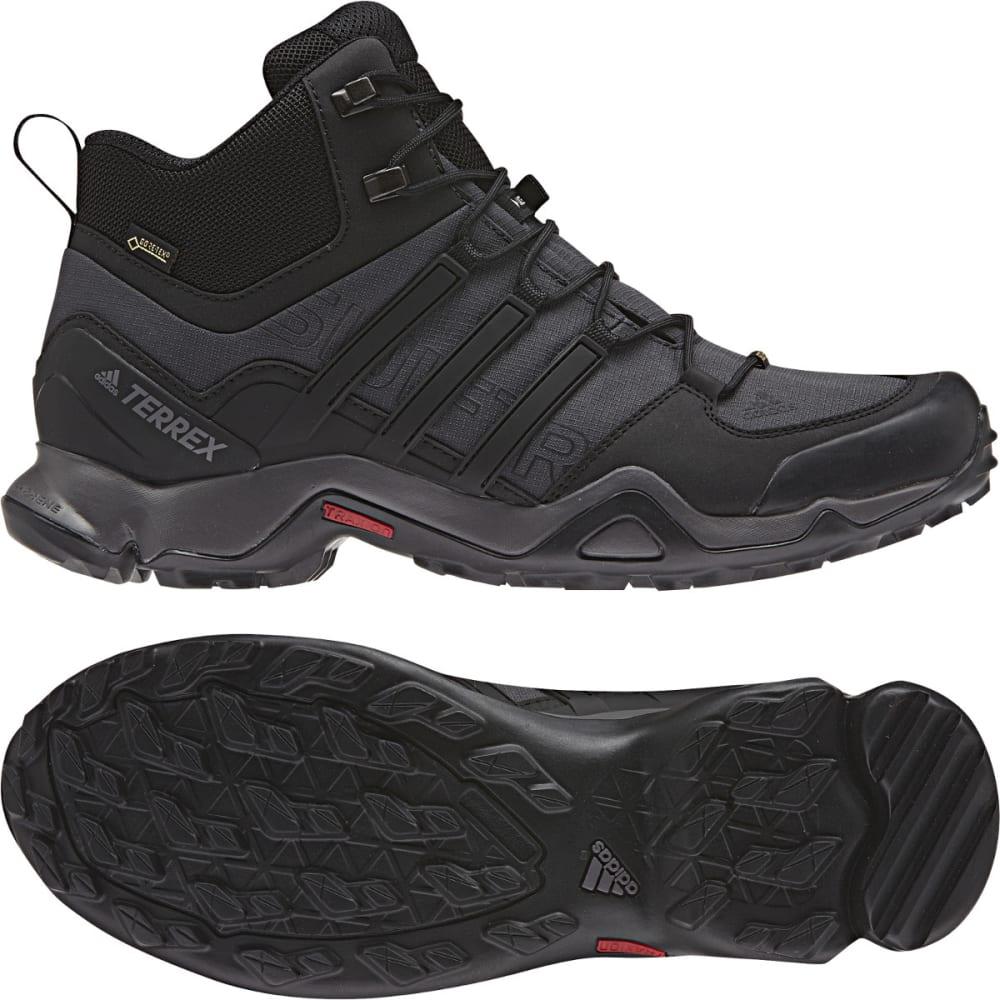 ADIDAS Men's Terrex Swift R Mid GTX Hiking Shoes, Grey - GREY/BLACK/GRANITE