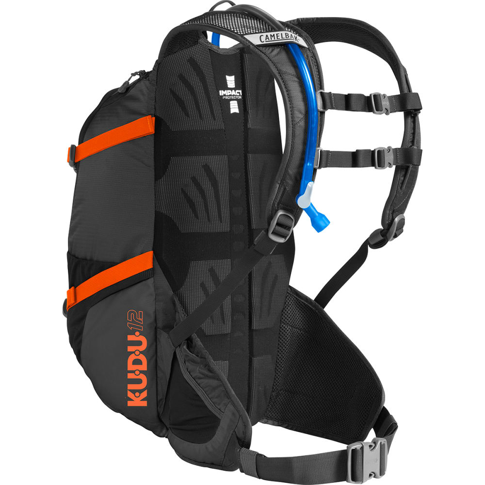 CAMELBAK K.U.D.U. 12 Hydration Pack   - BLACK/LASER ORANGE
