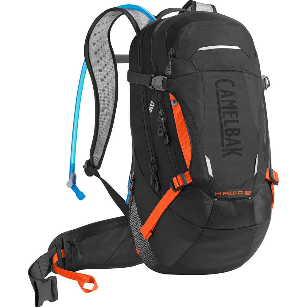 CAMELBAK HAWG LR 20 Mountain Biking Hydration Pack - BLACK/LASER ORANGE
