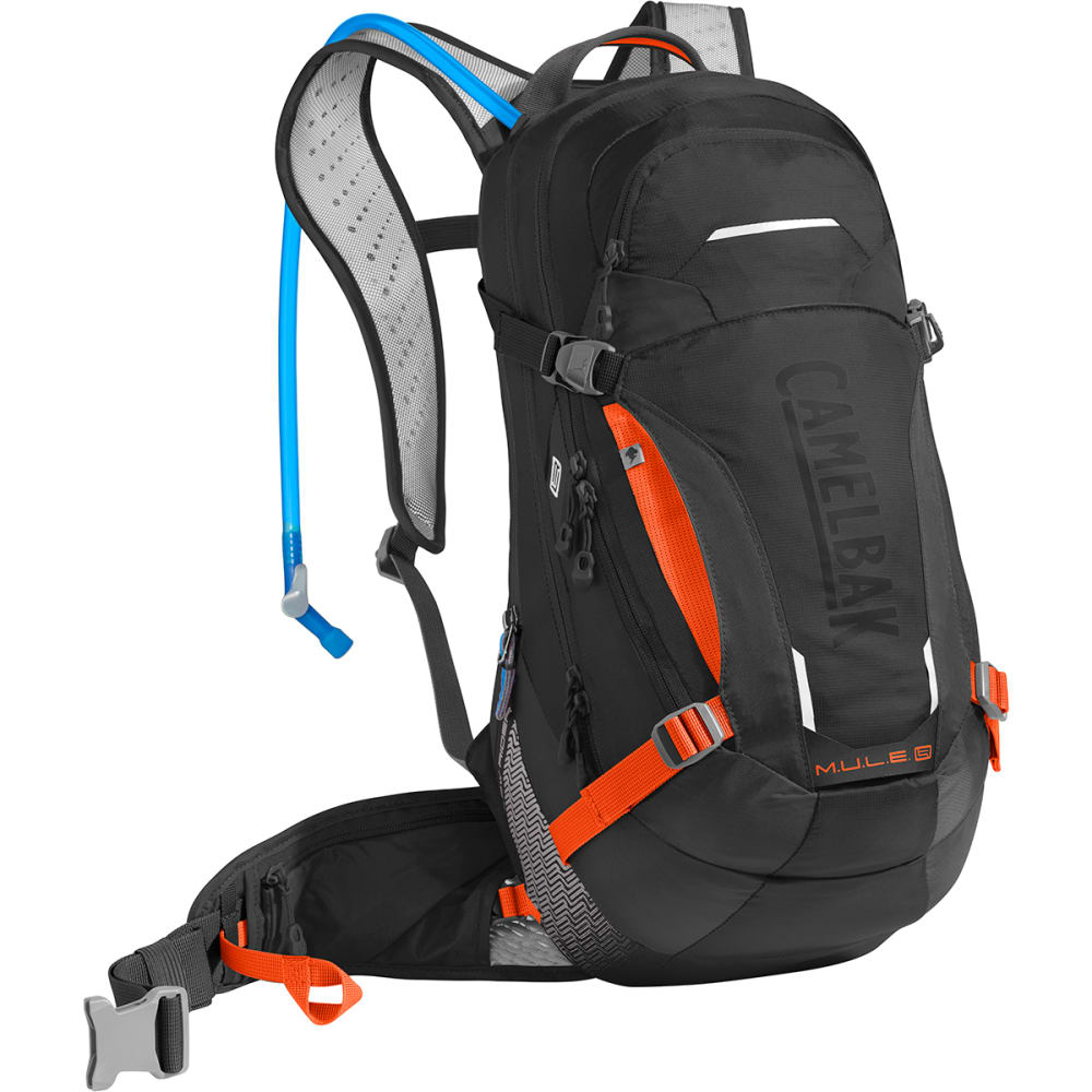CAMELBAK M.U.L.E. LR 15 Mountain Biking Pack - BLACK/LASER ORANGE