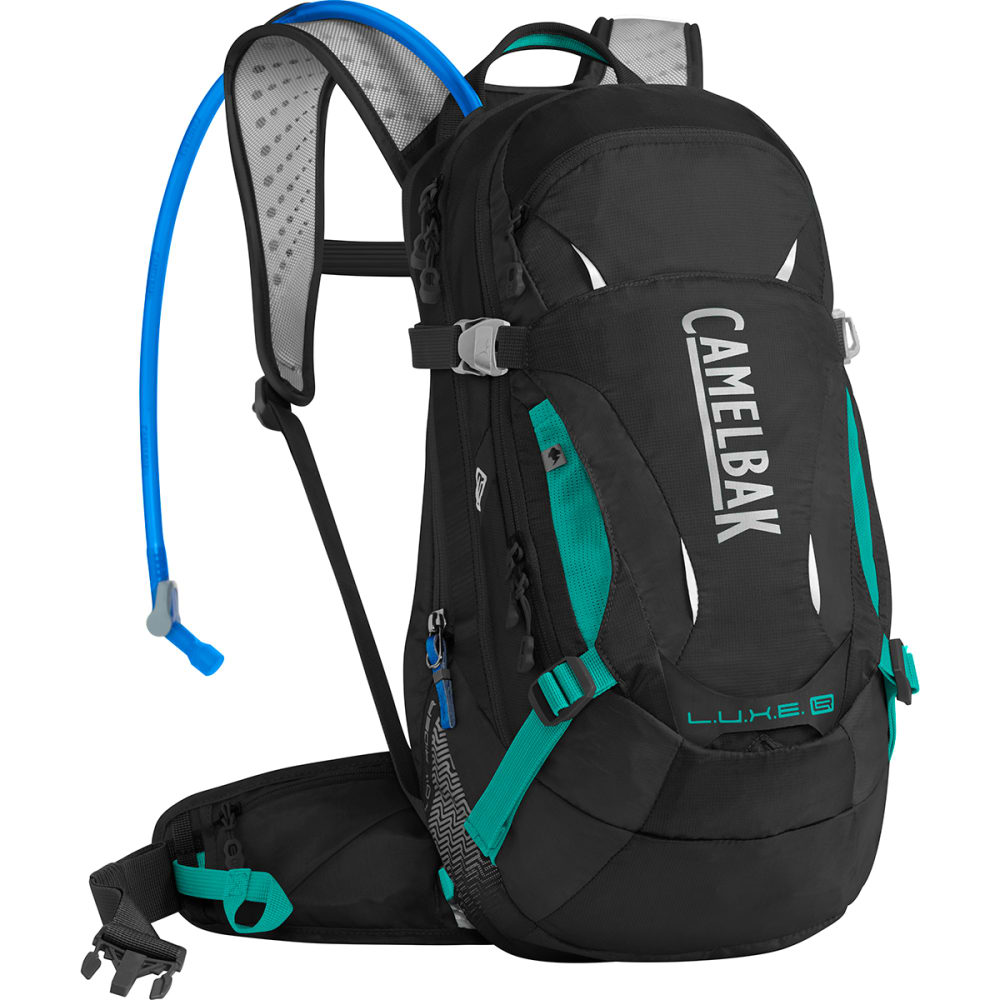 CAMELBAK Women's L.U.X.E. LR 14 Mountain Biking Pack - BLACK/COLUMBIA JADE