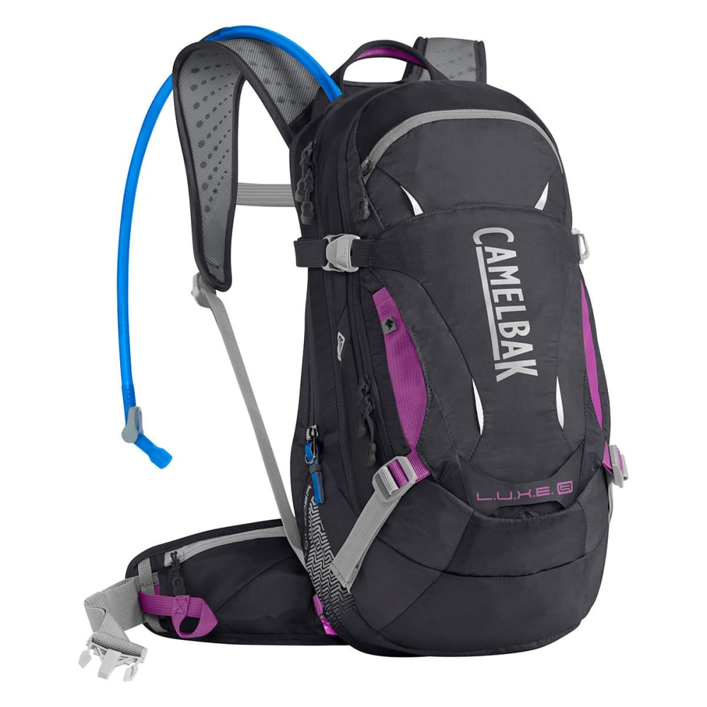 CAMELBAK Women's L.U.X.E. LR 14 Hydration Pack   - CHARCOAL/LT PURPLE
