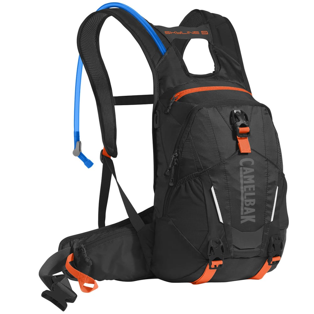 CAMELBAK Skyline LR 10 Mountain Biking Hydration Pack  - BLACK/LASER ORANGE
