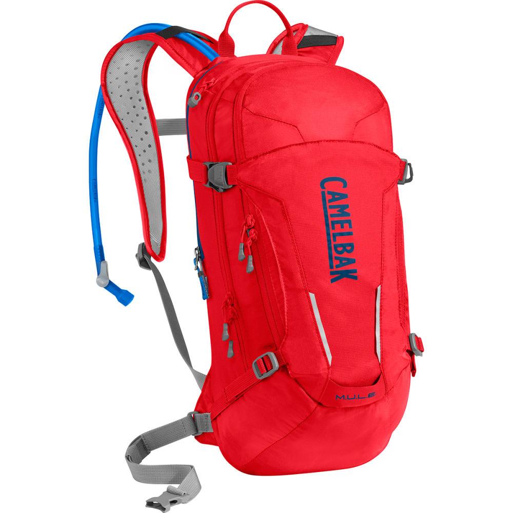 CAMELBAK M.U.L.E. Hydration Pack - RACING RED/BLUE