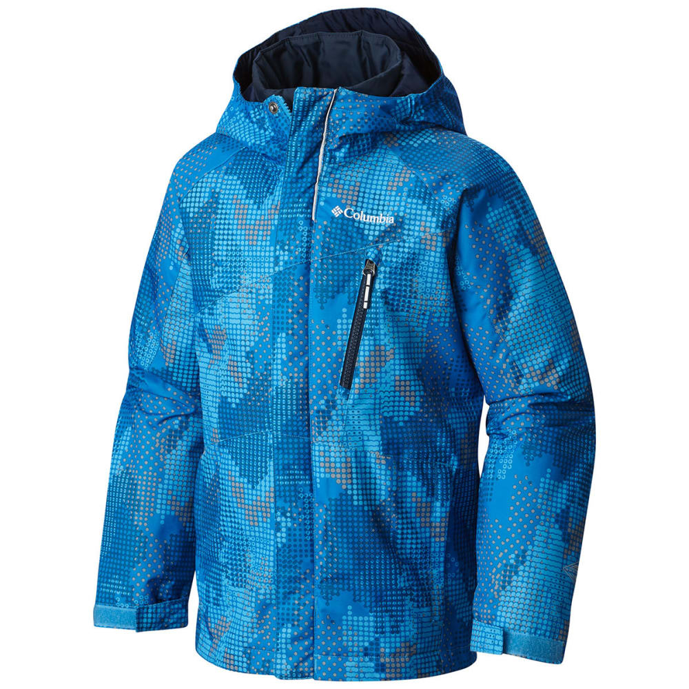 COLUMBIA Boys' Whirlibird Interchange Jacket - 480-PENINSULA ENERGY