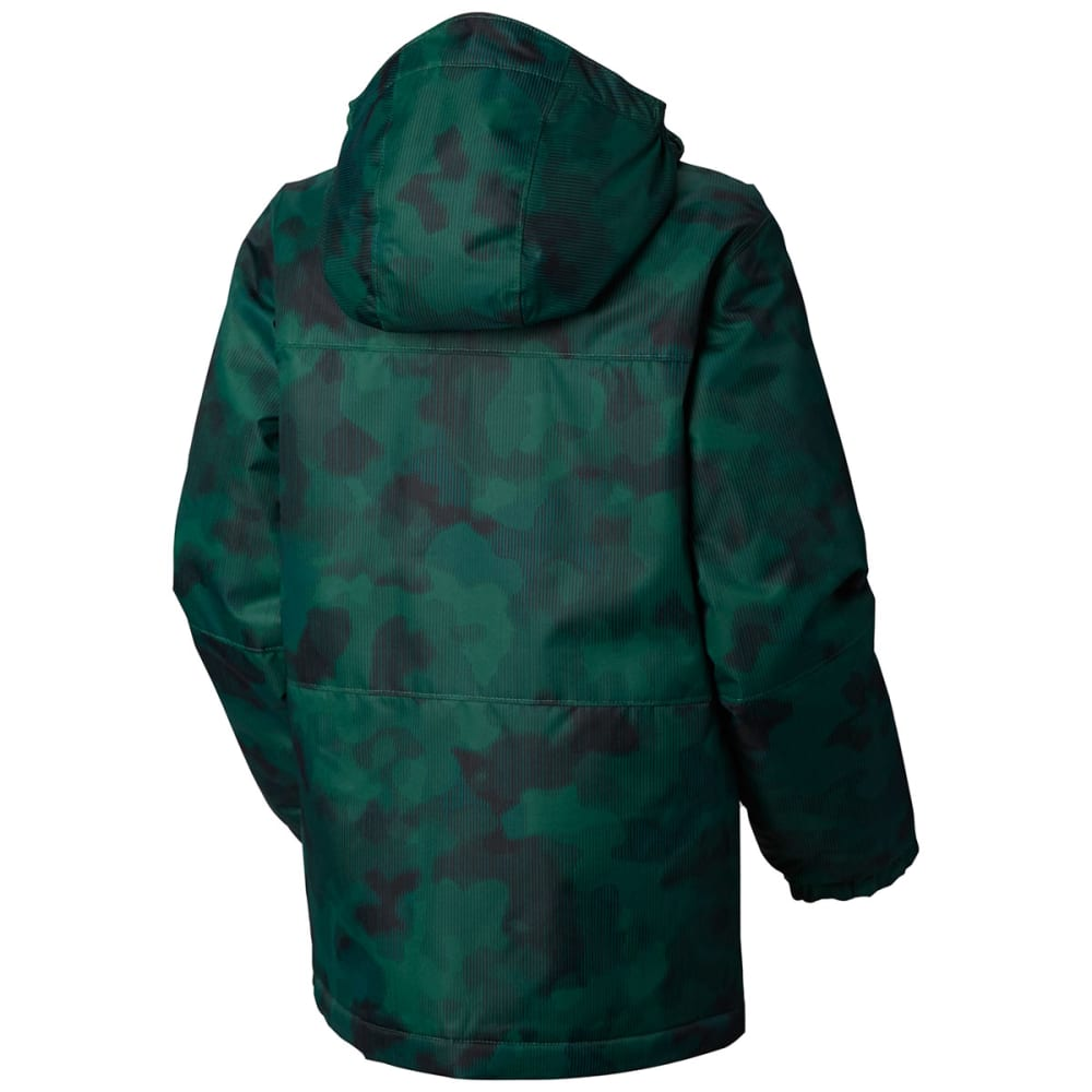 COLUMBIA Boys' Magic Mile Jacket - 300-FOREST CAMO