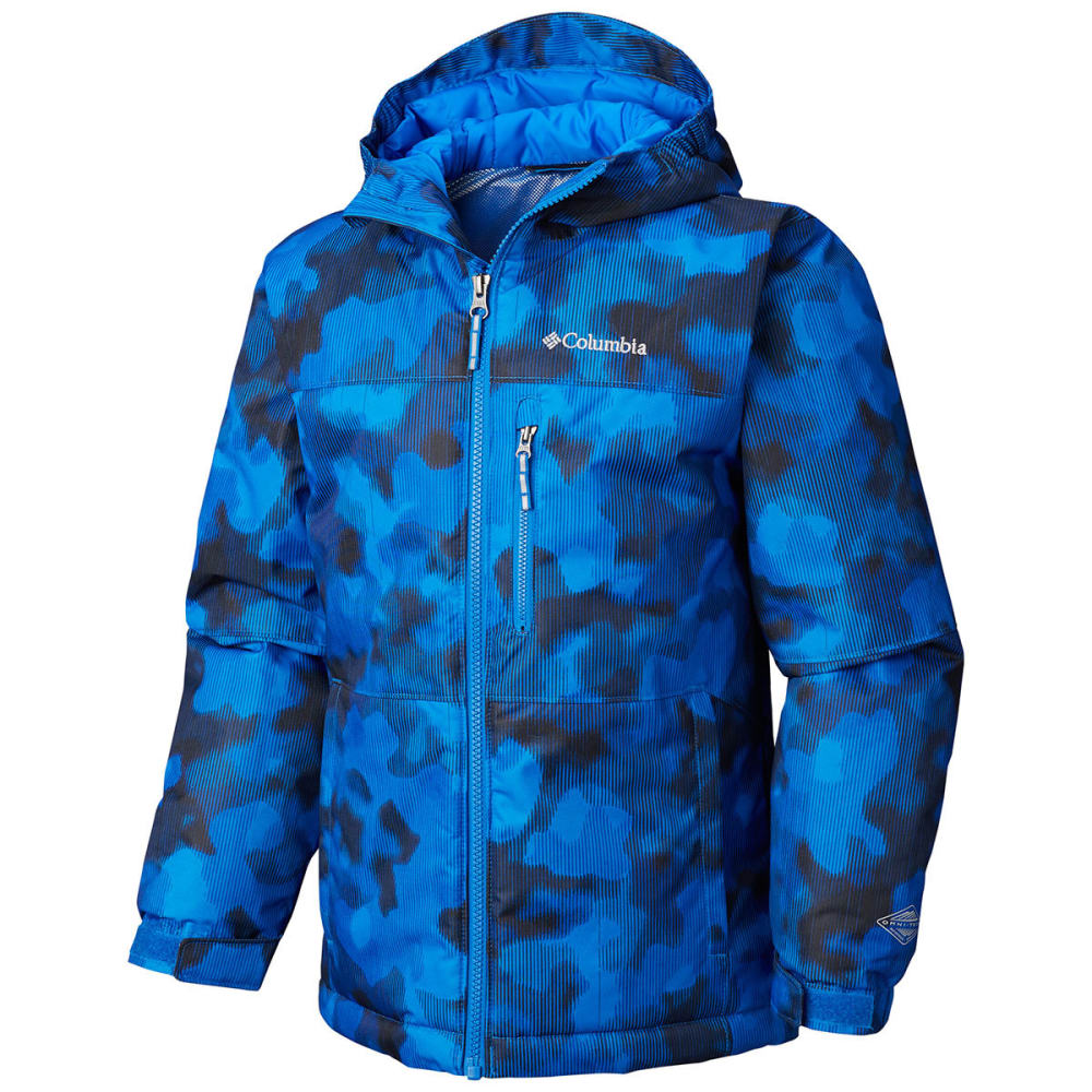 COLUMBIA Boys' Magic Mile Jacket - 440-SUPER BLUE