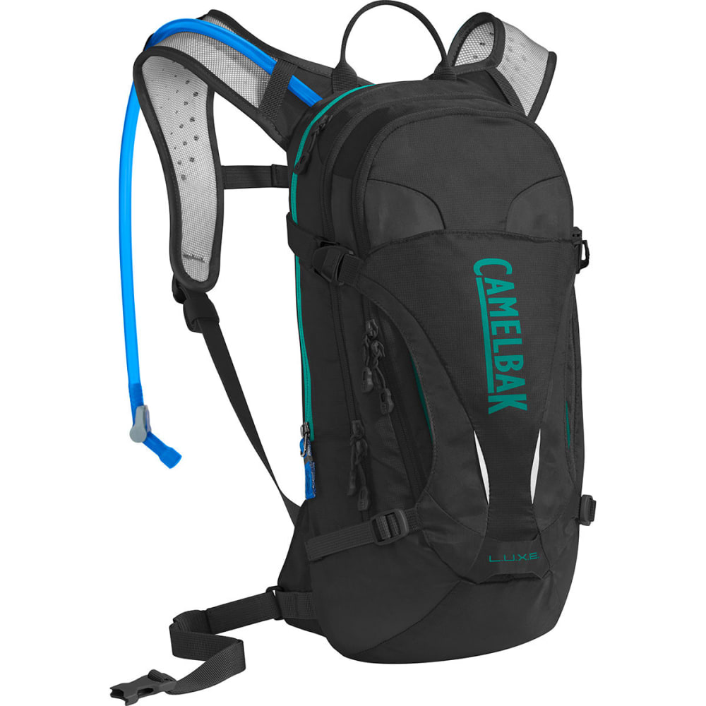 CAMELBAK Women's L.U.X.E. Hydration Pack   - BLACK/COLUMBIA JADE