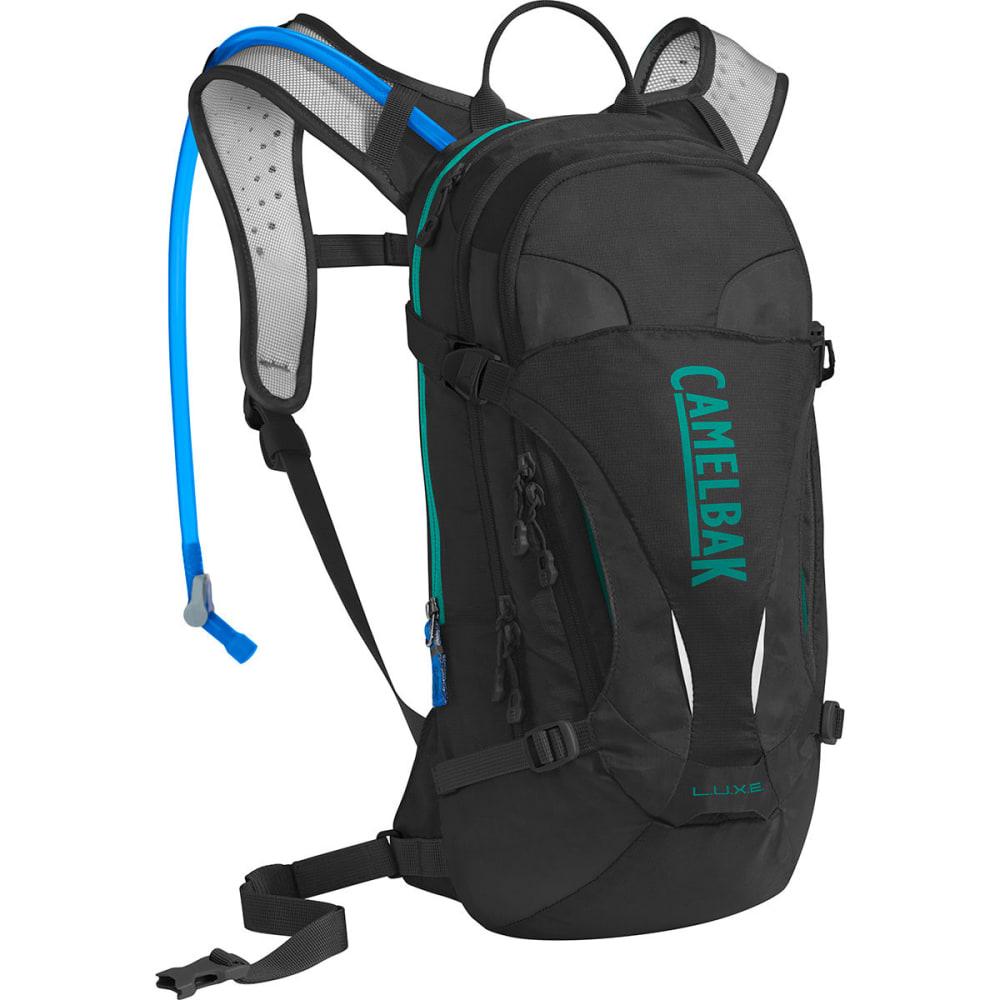 CAMELBAK Women's L.U.X.E. Mountain Biking Hydration Pack - BLACK/COLUMBIA JADE