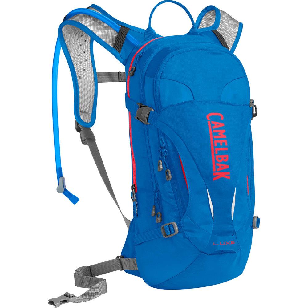 CAMELBAK Women's L.U.X.E. Mountain Biking Hydration Pack - CARVE BLUE/CORAL
