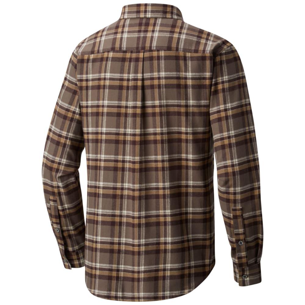 COLUMBIA Men's Boulder Ridge Long-Sleeve Flannel Shirt - 245-MAJOR TRAD PLAID