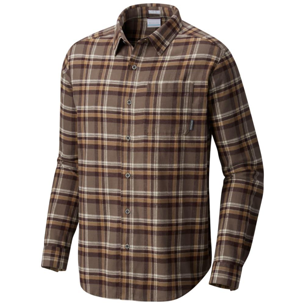 COLUMBIA Men's Boulder Ridge™ Long-Sleeve Flannel Shirt - 245-MAJOR TRAD PLAID