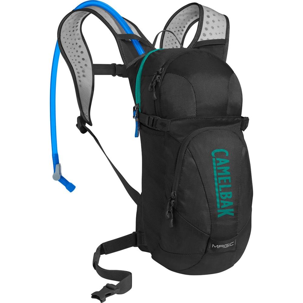 CAMELBAK Women's Magic Mountain Bike Hydration Pack - BLACK/COLUMBIA JADE