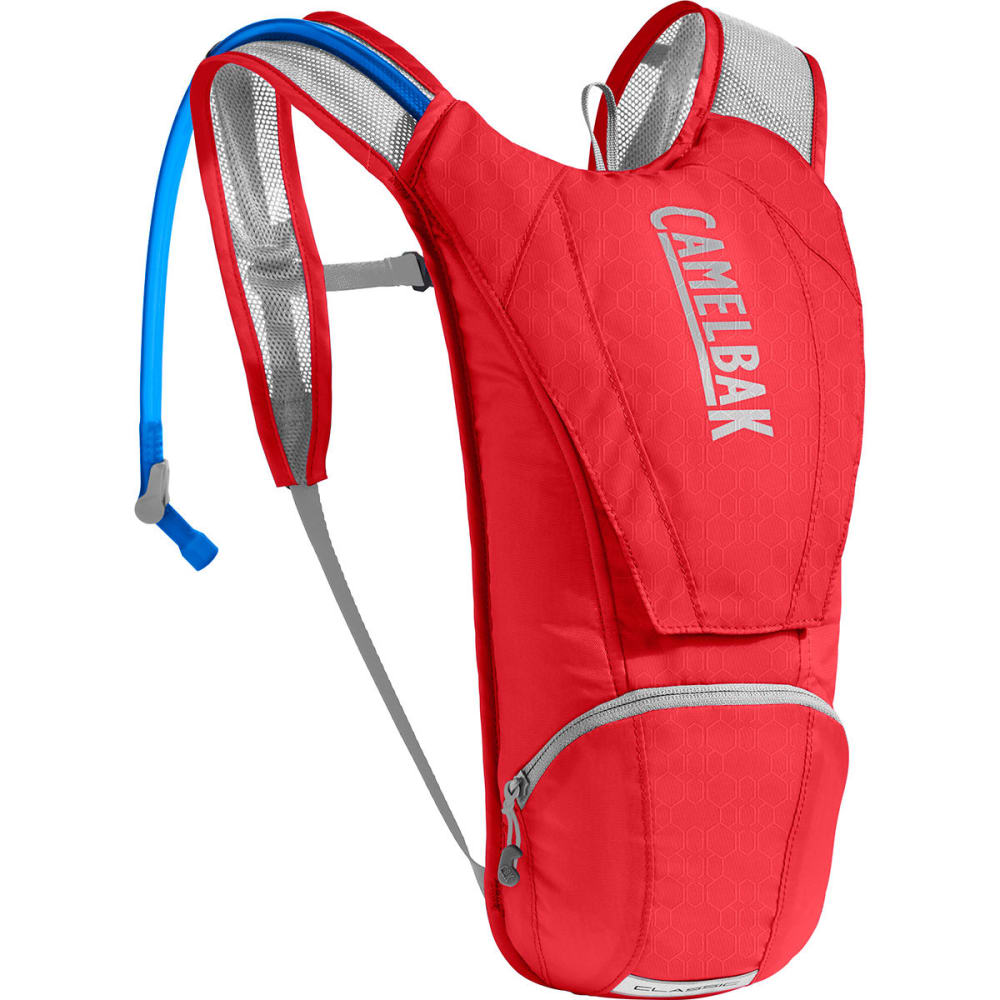 CAMELBAK Classic Hydration Pack   - RACING RED/SILVER