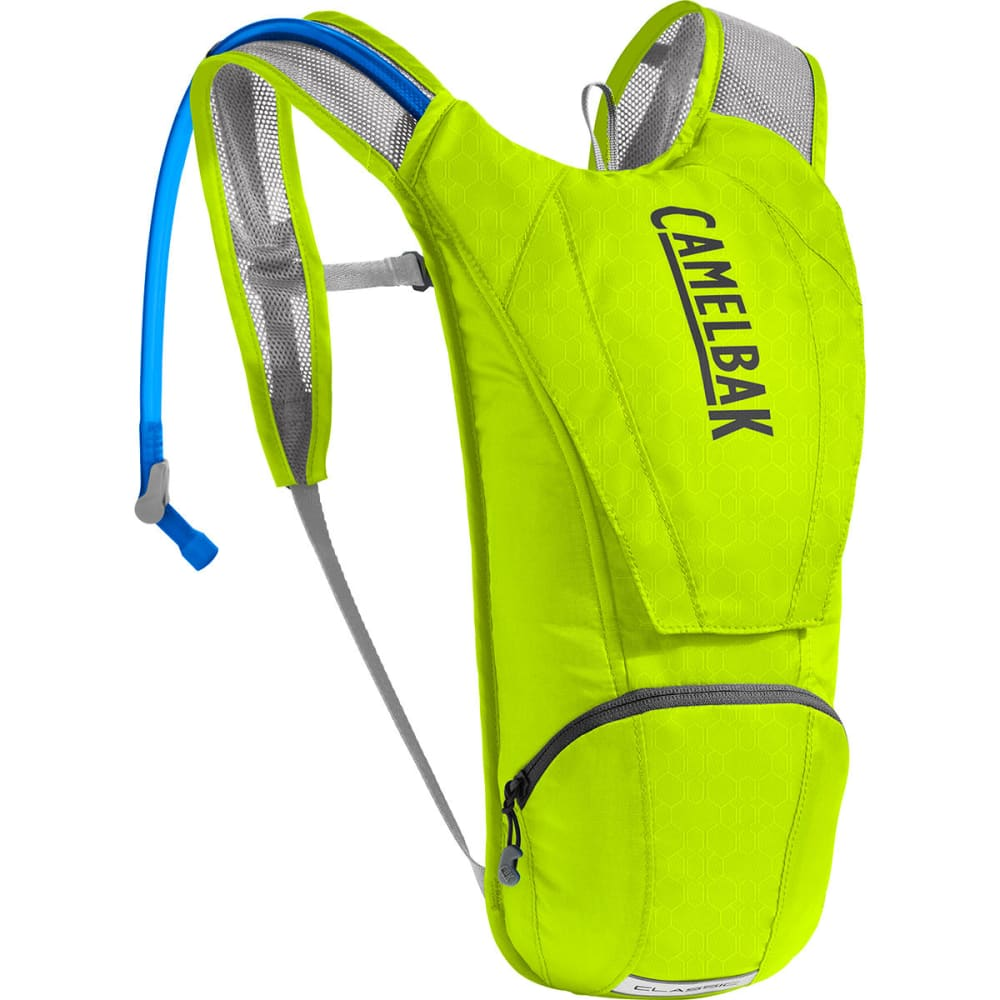 CAMELBAK Classic Cycling Hydration Pack - LIME PUNCH/SILVER
