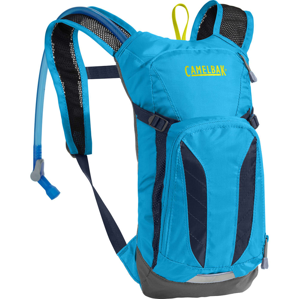 CAMELBAK Kids' Mini M.U.L.E. Cycling Hydration Pack - ATOMIC BLUE/NAVY