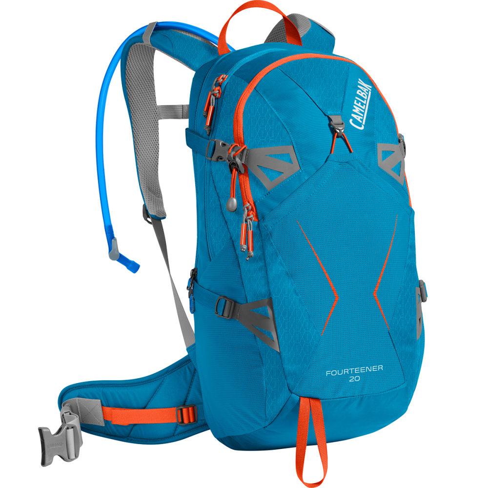 CAMELBAK Fourteener 24 Hiking Hydration Pack - GRECIAN BLUE/PUMPKIN