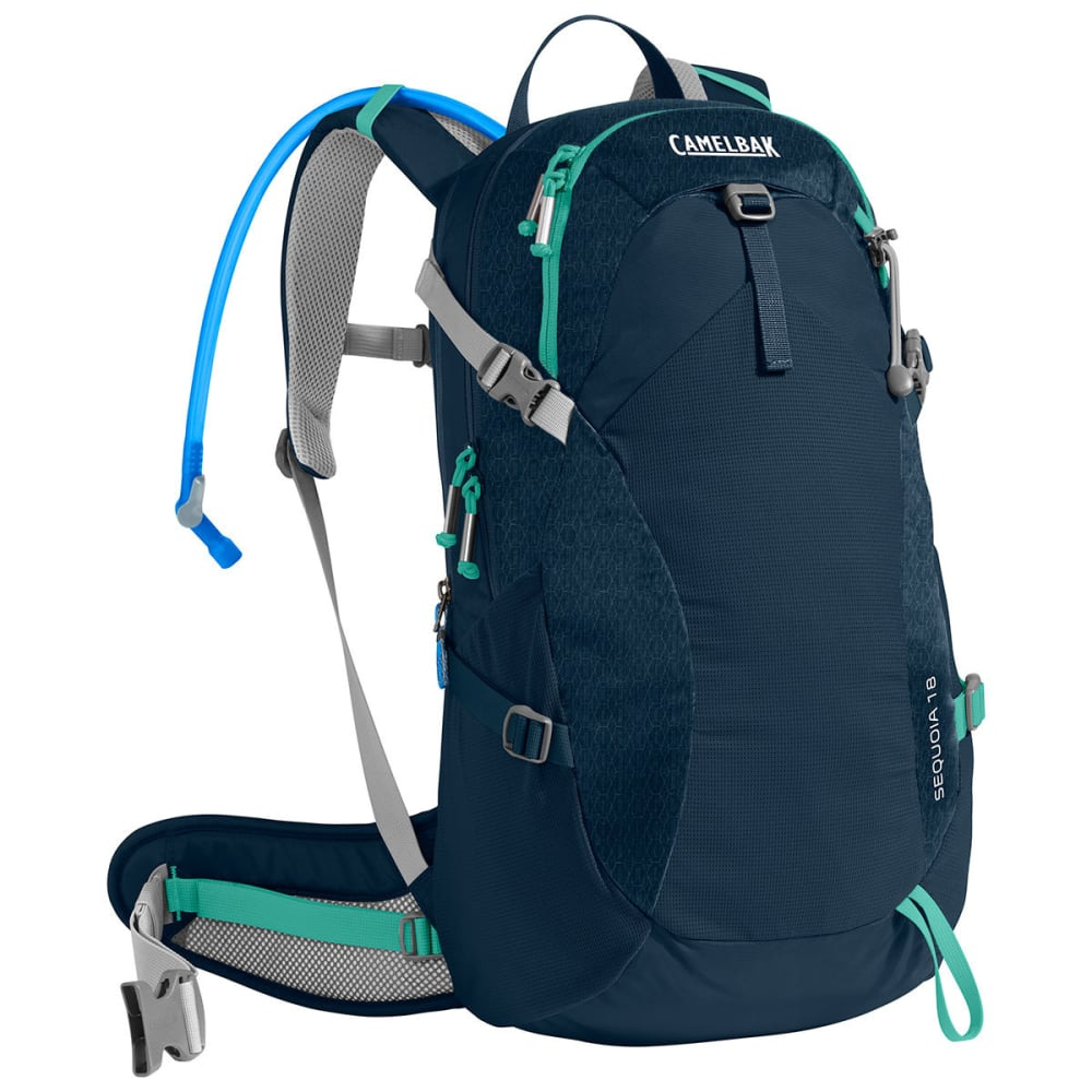 CAMELBAK Sequoia 18 Hiking Hydration Pack  - NAVY BLAZER/MINT