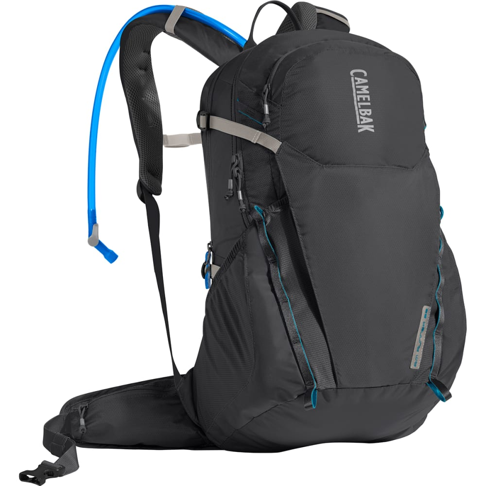 CAMELBAK Rim Runner 22 Hiking Hydration Pack - CHARCOAL/GRECIAN BLU