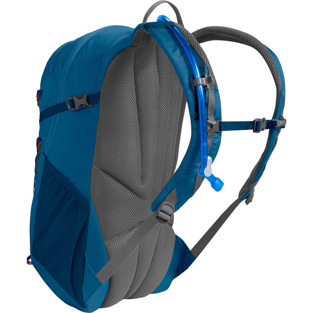 CAMELBAK Cloud Walker 18 Hiking Hydration Pack - GRECIAN BLUE/PUMPKIN
