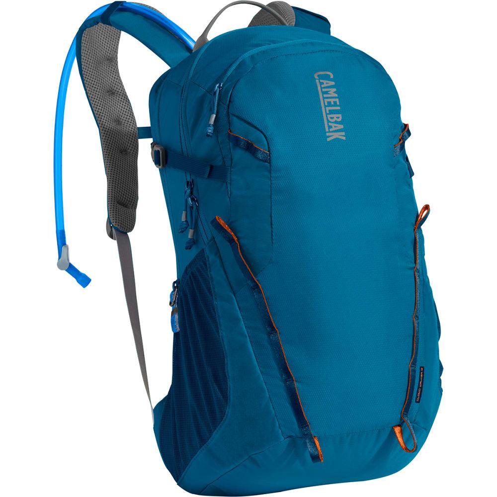 CAMELBAK Cloud Walker 18 Hydration Pack - GRECIAN BLUE/PUMPKIN