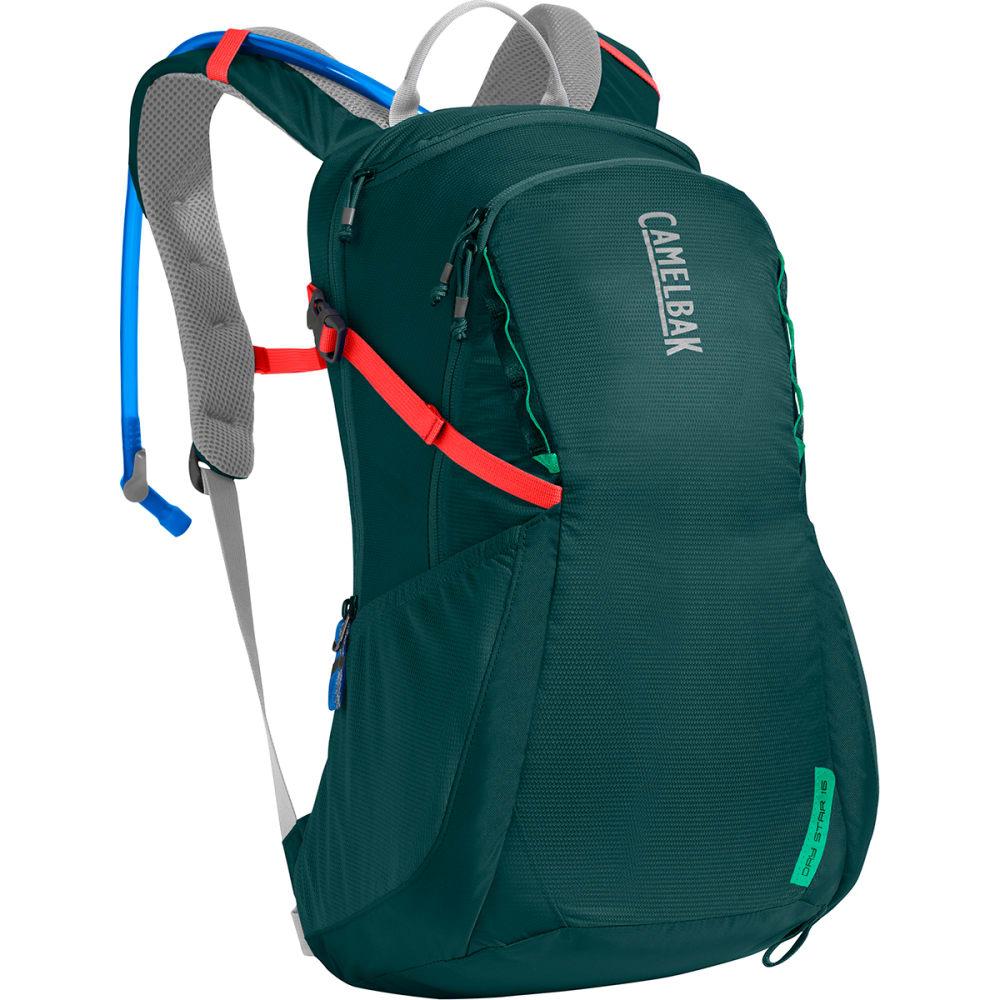 CAMELBAK Women's DayStar 16 Hiking Hydration Pack - DEEP TEAL/HOT CORAL