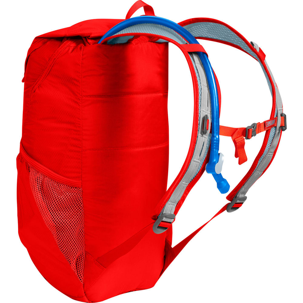 CAMELBAK Arete 18 Hiking Hydration Pack - FIERY RED/BLUE
