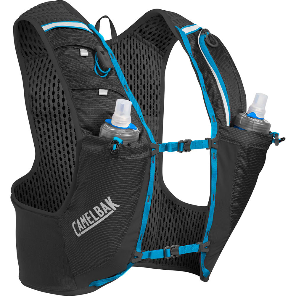 CAMELBAK Ultra Pro Running Hydration Vest - BLACK/ATOMIC BLUE