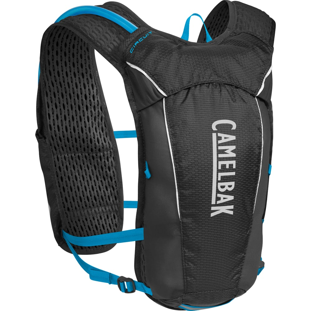 CAMELBAK Circuit Hydration Vest   - BLACK/ATOMIC BLUE