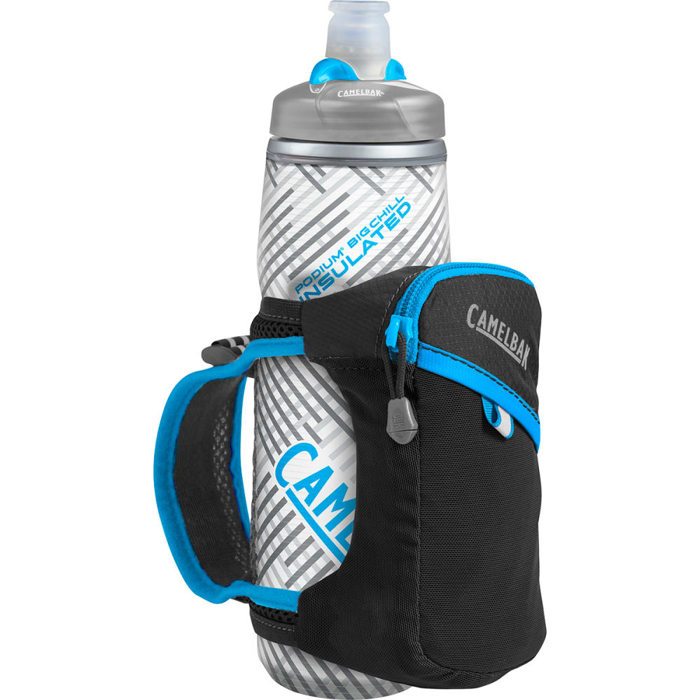 CAMELBAK Quick Grip Chill Running Handheld Pack - BLACK/ATOMIC BLUE