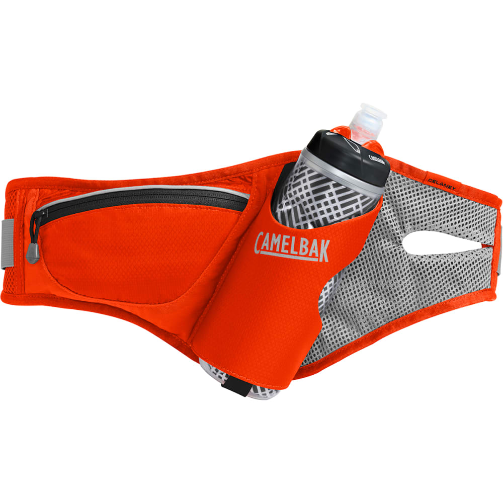 CAMELBAK Delaney Running Hydration Belt - CHERRY TOMATO/BLACK