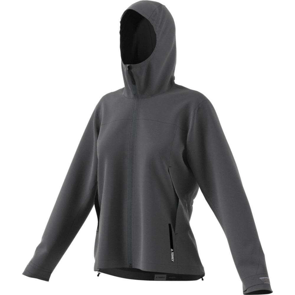 ADIDAS Women's Terrex Multi 2.5L Jacket - GREY FIVE