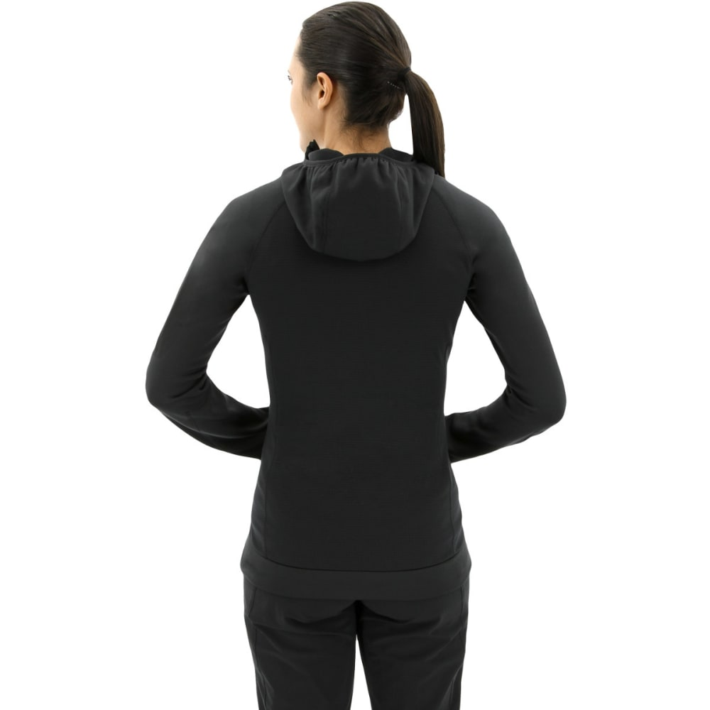 ADIDAS Women's Terrex Stockhorn Fleece Hoodies - BLACK