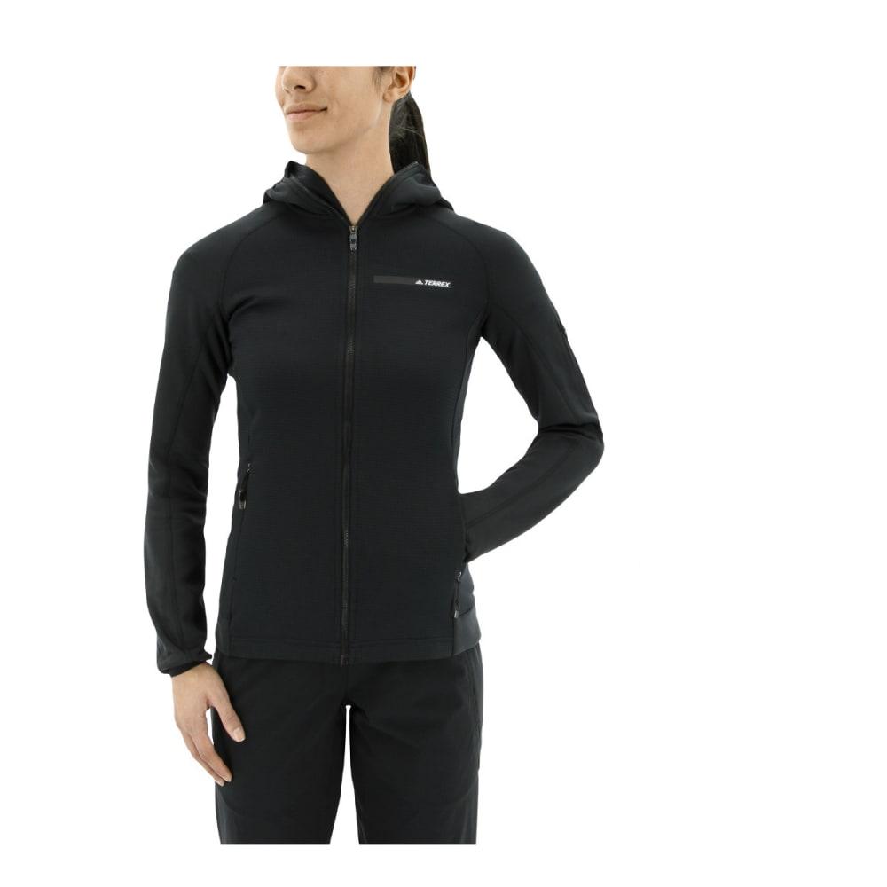 ADIDAS Women's Terrex Stockhorn Fleece Hoodies - BLACK