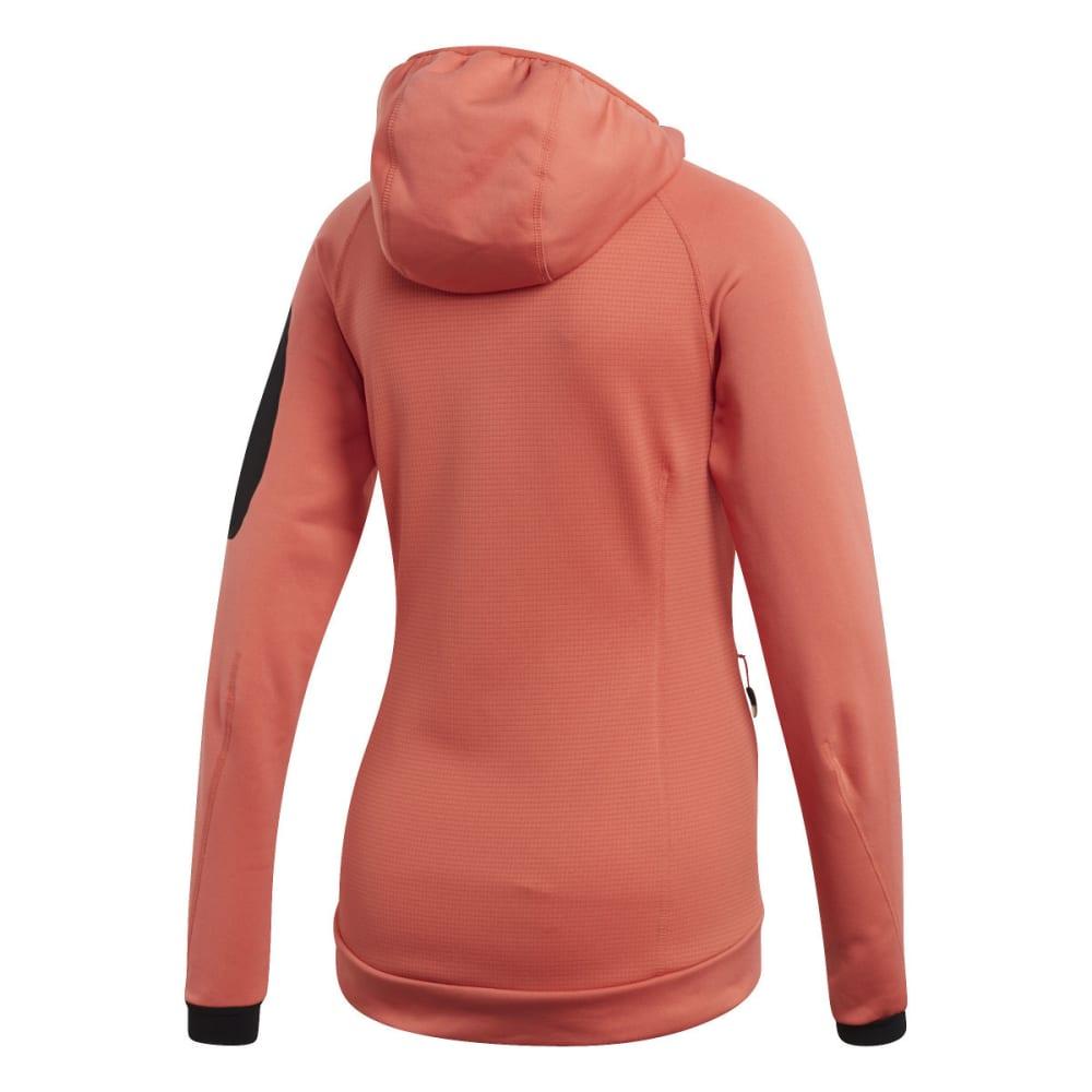 ADIDAS Women's Terrex Stockhorn Fleece Hoodies - TRACE SCARLET
