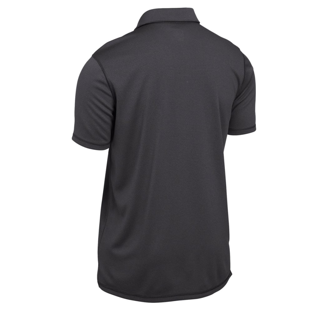 EMS Men's Techwick Short-Sleeve Polo - FORGED IRON