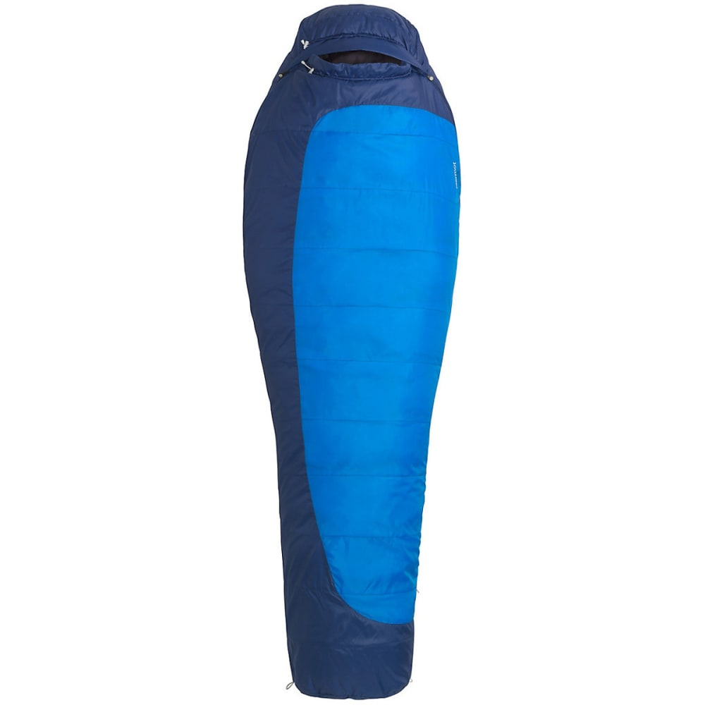 MARMOT Trestles 15 Sleeping Bag, Long - COBALT BLUE/BLUE
