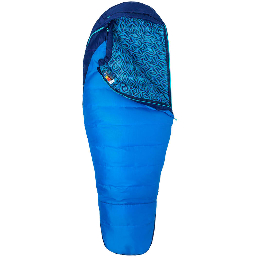 MARMOT Women's Trestles 15 Sleeping Bag - FRENCH BLUE/BLUE