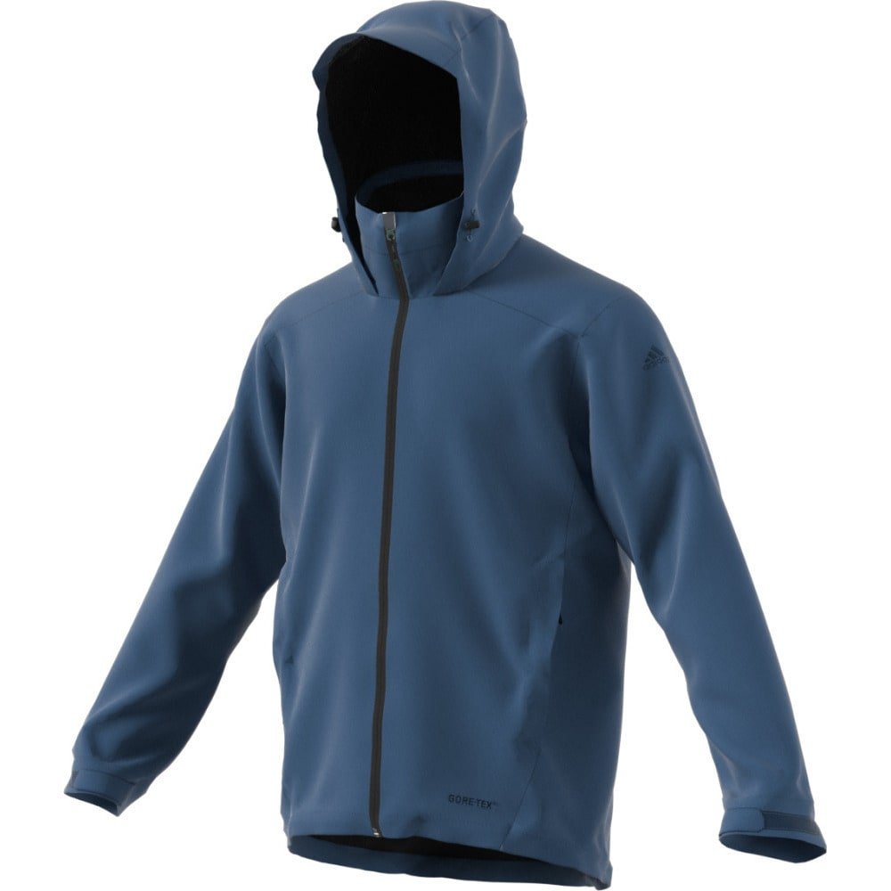 ADIDAS Men's All Outdoor 2L Gore-Tex Wandertag Jacket - CORE BLUE