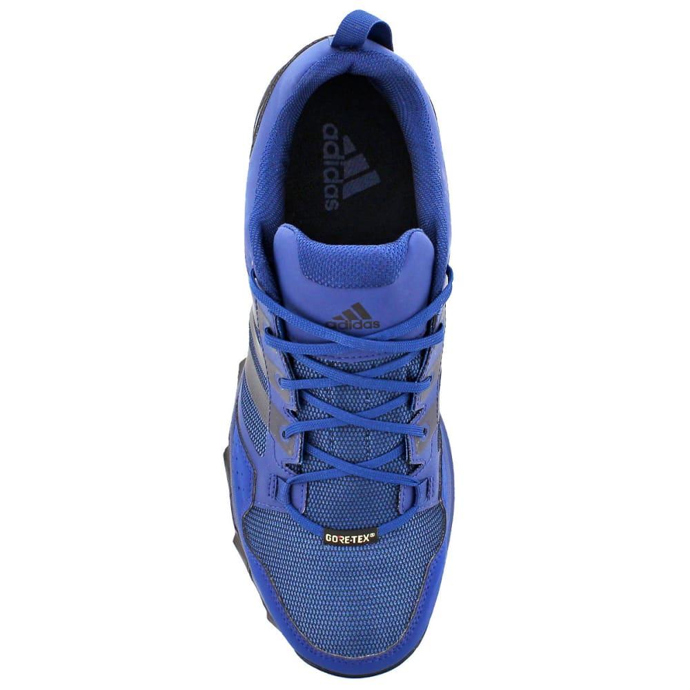 ADIDAS Men's Kanadia 7 Trail GTX Running Shoes, Mystery Blue/Black/Core Blue - BLUE/BLACK/BLUE
