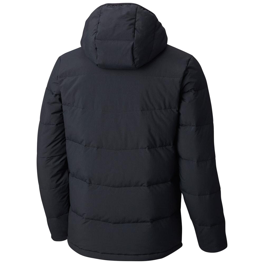 COLUMBIA Men's Lone Fir 650 TurboDown™ Hooded Jacket - 010-BLACK