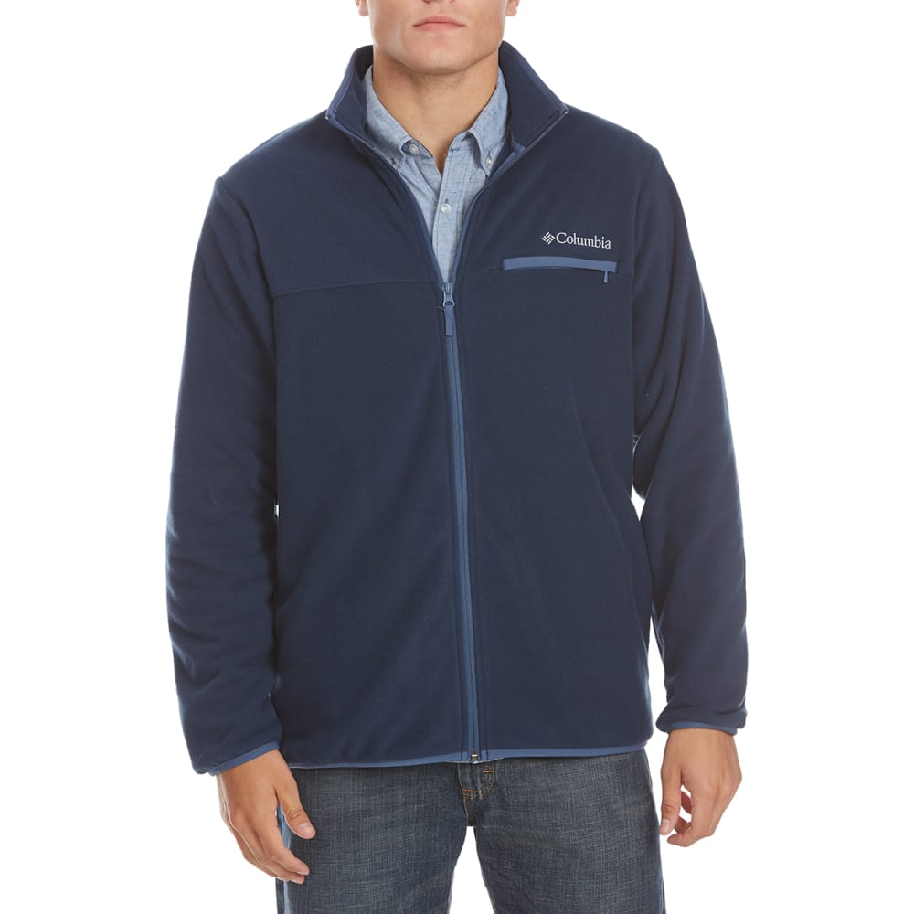 COLUMBIA Men's Mountain Crest™ Fleece Full-Zip Jacket - 465-COLLEGIATE NAVY