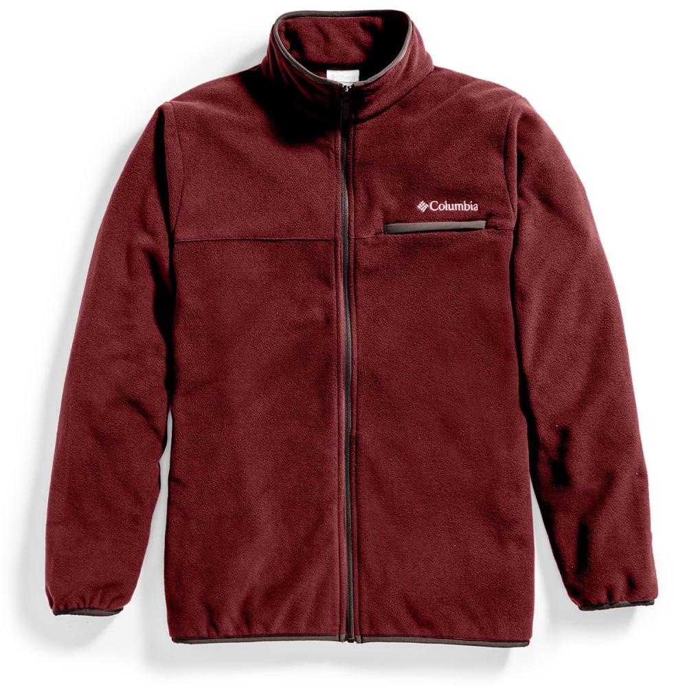 COLUMBIA Men's Mountain Crest™ Fleece Full-Zip Jacket - 521-ELDERBERRY