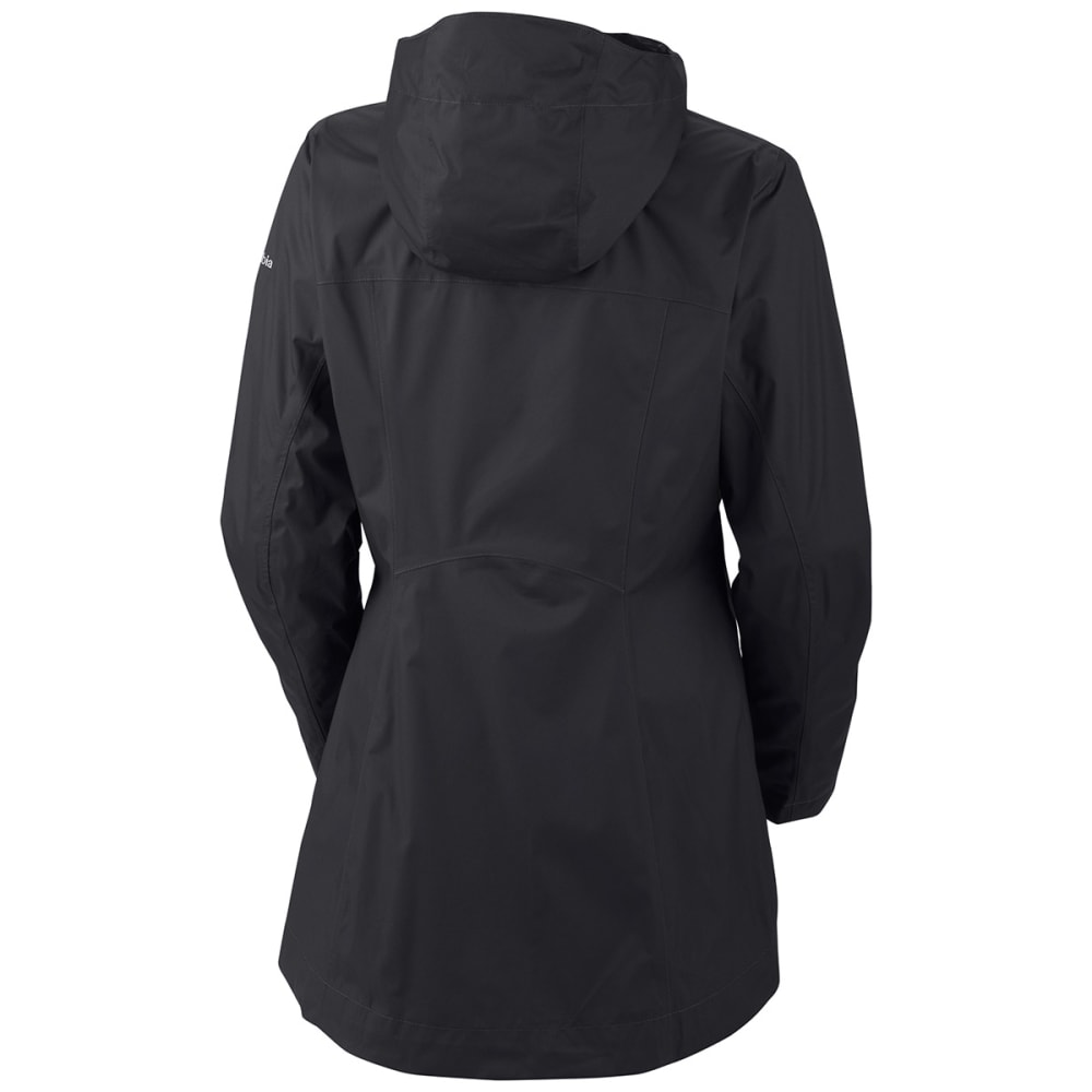 COLUMBIA Women's Splash A Little Rain Jacket - 010-BLACK SOLID