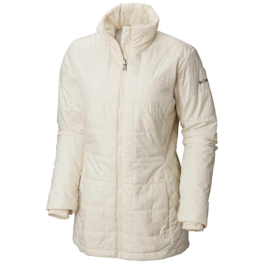 COLUMBIA Women's Carson Pass IC Jacket - 021-LT CLOUD/BUFFALO
