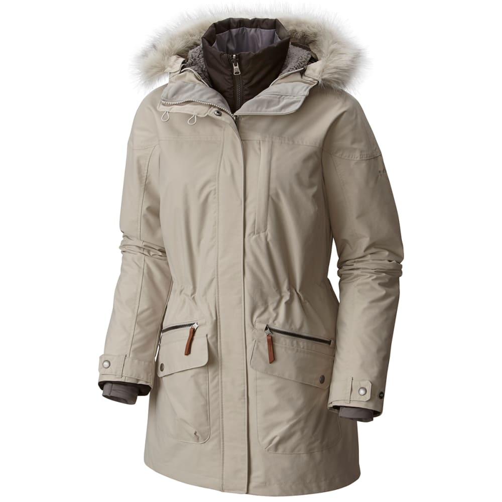 COLUMBIA Women's Carson Pass™ IC Jacket - 020-LT CLOUD/BUFFALO