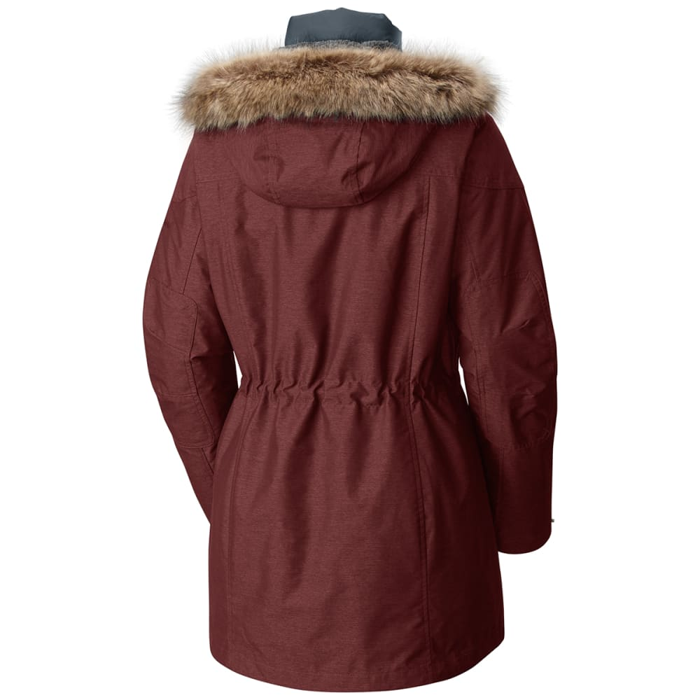 COLUMBIA Women's Carson Pass IC Jacket - 837-DEEP RUST/MYSTER
