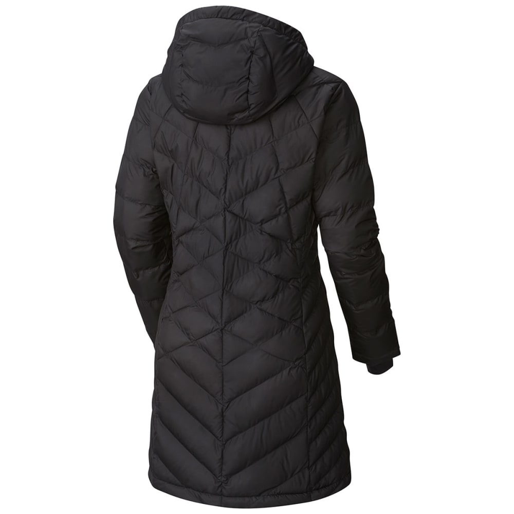 COLUMBIA Women's Heavenly Long Hooded Jacket - 010-BLACK